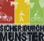 Sicher durch Münster Logo